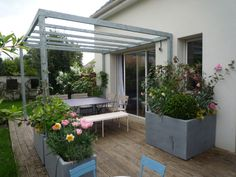 Amenager terrasse recherche google jardin pinterest safari for Amenagement terasse