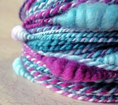 Handspun Beehive Yarn  Meander by TheScarletWood on Etsy, $45.00