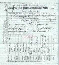 Birth Certificate Giovanni John Rossi Nyc Gangster Pinterest