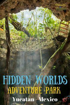 Hidden Worlds #Adventure Park in the Riviera Maya, Yucatan Peninsula Mexico  #travel http://www.healyourfacewithfood.com/