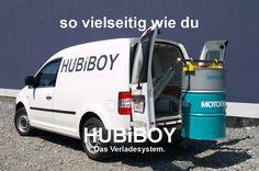 HUBiBOY NEXT. So vielseitig wie du. #hubiboy #verladesystem #ladekran