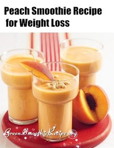 Peach Smoothie is so easy and sweet, yet it's one of the best smoothies that aid in weight loss! you'll love this smoothie recipe!      1servings 5minute