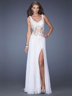 A-Line/Princess Sleeveless Straps Ruffles Chiffon Floor-Length Dresses