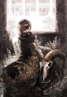 A dead goat.. - Tokyo Ghoul ~ DarksideAnime