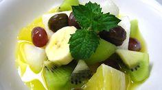 マセドニア(フルーツサラダ):スペイン料理簡単レシピ集