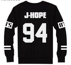 6661564ea1 Kpop Korean Pop Bangtan Boys Long Sleeve Black and white BTS Women Mens  Sweatshirts