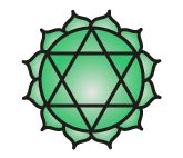 Anahata chakra symbolizes the consciousness of love, empathy, selflessness and devotion. On the psychic level, this center of force inspires the human being to love, be compassionate, altruistic, devoted and to accept the things that happen in a divine way.