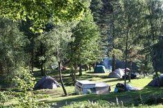Camping in Noord Frankrijk, zo in de natuur..