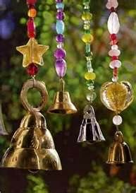 Windchimes - would like for the kids to create something like this for the patio.