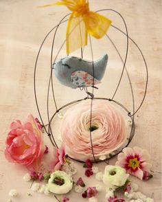 """""""Mi piace"""": 304, commenti: 9 - Daniela Corti•Wire & Textile (@filidipoesia) su Instagram: """"Gli uccellini mi svegliano con  il loro cinguettio eh sì!! È proprio primavera!! 🌸 Buon week end…"""""""
