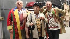 Colin Baker, Sylvester McCoy and Peter Davison - The Five(ish) Doctor's Reboot