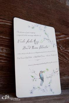 wedding invitation idea; Goddard Studios
