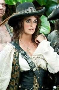 Nice idea angelica pirate costume