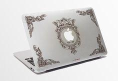 Donnez à votre nouvelle vie de Mac et de lindividualité ! Rendent spécial comme toi-même ! Photopolymère PVC autocollant personnalisé coupe papier