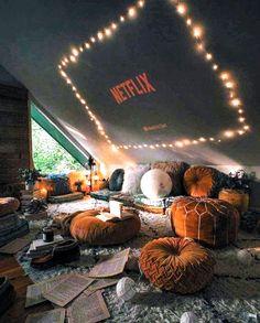 Cute Bedroom Ideas, Cute Room Decor, Trendy Bedroom, Bedroom Inspiration, Chill Room, Cozy Room, Dream Rooms, Dream Bedroom, Master Bedroom