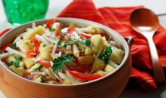CanolaInfo | Jicama and Sweet Lemon Salad |This crisp and refreshing salad is ideal for dining outdoors in the summer sun. Canola oil helps the flavors meld.