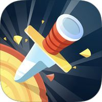 Knife Hit: The ultimate knife challenge! - Android arcade game APK by Ketchapp Ipod Touch, Best Android Games, Android Pc, Ipad, Iphone, Hit Games, Games For Boys, Throwing Knives, Game App