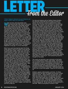 16 best Editor\'s Letter images on Pinterest | Magazine layouts ...