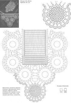 "Photo from album ""mim on Yandex. Irish Crochet, Crochet Motif, Crochet Doilies, Crochet Flowers, Crochet Patterns, Crochet For Kids, Crochet Clothes, Views Album, Handicraft"