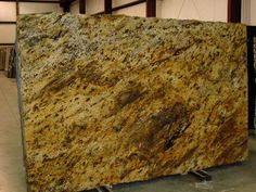 Golden Thunder Granite Slabs from Slabco Marble and Granite. Granite Countertops Colors, Granite Colors, Granite Tops, Granite Slab, Thunder, Quartz, Kitchen, Beautiful, Cooking