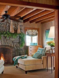 Shazalynn Cavin-Winfrey; Christmas at the Cabin - Traditional Home®