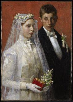 Gari Melchers: Marriage (1893)