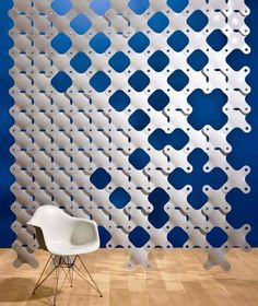 Hanging Fabric Room Divider