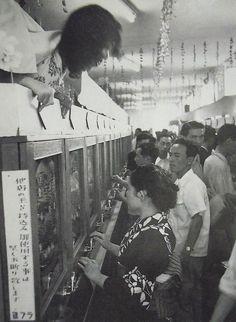 昭和スポット巡り on Twitter 昭和27年 パチンコ店 Photography Camera, White Photography, Street Photography, Showa Period, Showa Era, Fine Art Photo, Photo Art, Ziegfeld Girls, Japanese Photography