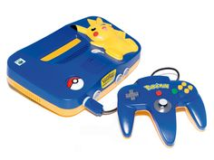 nintendo 64 pikachu i still have this and it still works too <3 :)