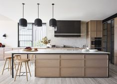 Australian Interior Design, Interior Design Awards, Australian Homes, Contemporary Interior, High Stool, House On A Hill, Decoration, Home Projects, Home Kitchens