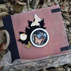 Handmade memory book. 🍁🍂 details and pages of this scrapbook album are also on my Youtube. Link in bio. ⏯ * . . . #scrapbook #album… Large Scrapbook, Scrapbook Albums, Diy Scrapbook, Scrapbooking, Paper Art, Paper Crafts, We R Memory Keepers, Summer Memories, Memory Books
