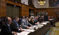 """Bolivia acusa a Chile de """"amnesia colectiva"""" en La Haya. Foto: EFE."""