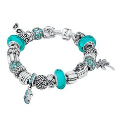 Teal Pandora -- Would be cute for a tropical cruise!
