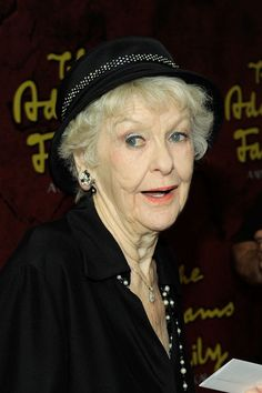 Elaine Stritch Actress Elaine Stritch attends the Broadway opening of ...
