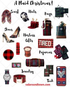 The Ultimate Plaid Lovers Gift Guide! | Plaid Gifts | Christmas Gift Guide | Preppy Gifts
