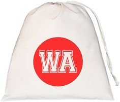 Netball Wing Attack Large Drawstring Bag