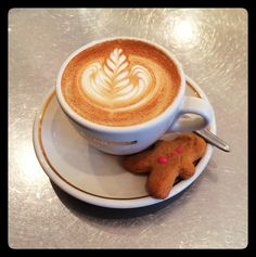 Coffee and gingerbread