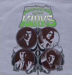 Something Else by The Kinks - cover art