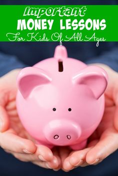 Teaching Kids to Save Using Important Money Lessons For Kids Of All Ages - The Frugal Navy Wife