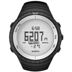 Suunto Core - Glacier Grey is a sporty outdoor watch is a great combination of easy to use features, such as altimeter, barometer, compass, and flaunts stylish design.
