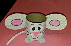 Easy Mouse Toilet Paper Roll Craft For Kids - Crafty Morning