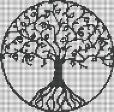 Thrilling Designing Your Own Cross Stitch Embroidery Patterns Ideas. Exhilarating Designing Your Own Cross Stitch Embroidery Patterns Ideas. Cross Stitch Tree, Cross Stitch Charts, Cross Stitch Designs, Cross Stitch Patterns, Celtic Cross Stitch, Alpha Patterns, Loom Patterns, Beading Patterns, Embroidery Patterns