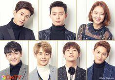 Taehyung + Hwarang Cast
