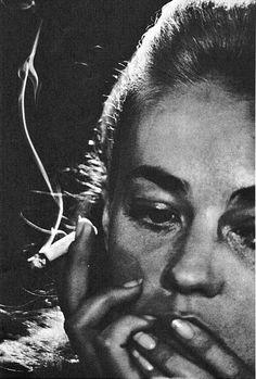 Jeanne Moreau by David Bailey