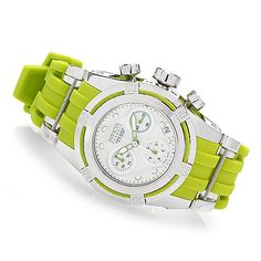 631-328- Invicta Reserve Women's Bolt Zeus Swiss Made Quartz Chronograph Silicone Strap Watch