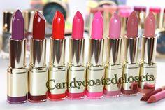 Milani Cosmetics Matte Lipsticks. Info on www.candycoatedclosets.com