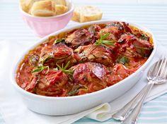Unser beliebtes Rezept für Schweinemedaillons in Spinat-Tomaten-Sahne und mehr als 55.000 weitere kostenlose Rezepte auf LECKER.de.