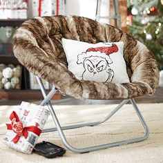 caramel ombre hang-a-round chair