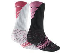 Nike Dri-FIT Performance Crew Football Socks (Large/2 Pair)