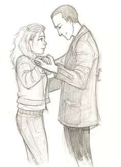Nine and Rose dancing by burdge....this will never cease being perfect! :')